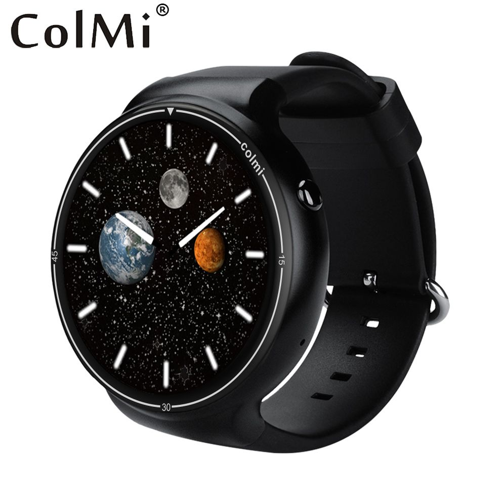ColMi i1 Smart Watch 2GB RAM+16GB ROM Android 5.1 3G WIFI GPS Google Play Heart Rate Monitor Connect Android IOS Phone Watch
