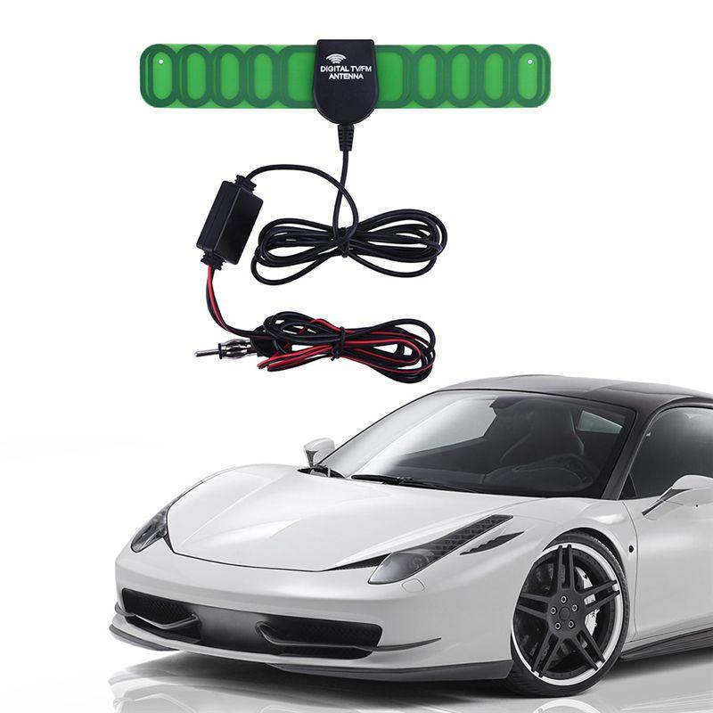 Авто антенна радио антенны Автомобильные автомобиль Antena ТВ приема сигнала усилитель автомобильный цифровой автомобильный тв антенны FM ант...