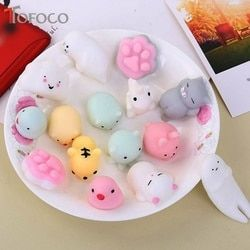 TOFOCO Kawaii Slow Rising Squishy Panda/Cat/Squish Toys Squishies Antistress Squeeze Funny Gadgets Toy For Kids