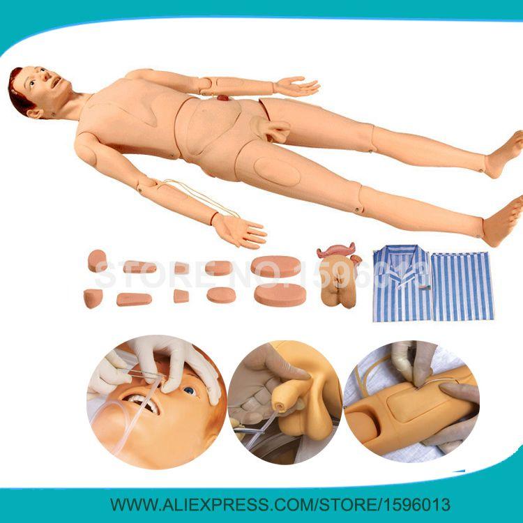 Multi-functional Combination Nursing Training Manikin,Patient Care Simulator,Nursing Mannequin