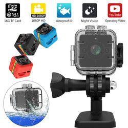Original SQ12 HD mini camera 1080P Wide Angle Waterproof MINI Camcorder DVR Mini video camera Sport Camcorders SQ11 mini cam