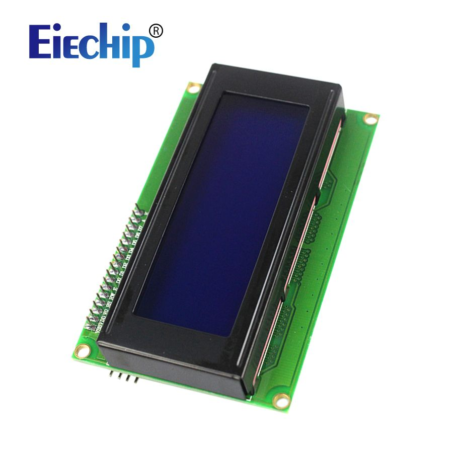 Free shipping Smart Electronics LCD Display Monitor LCD2004 2004 20X4 5V Character Blue Backlight Screen And IIC I2C for arduino