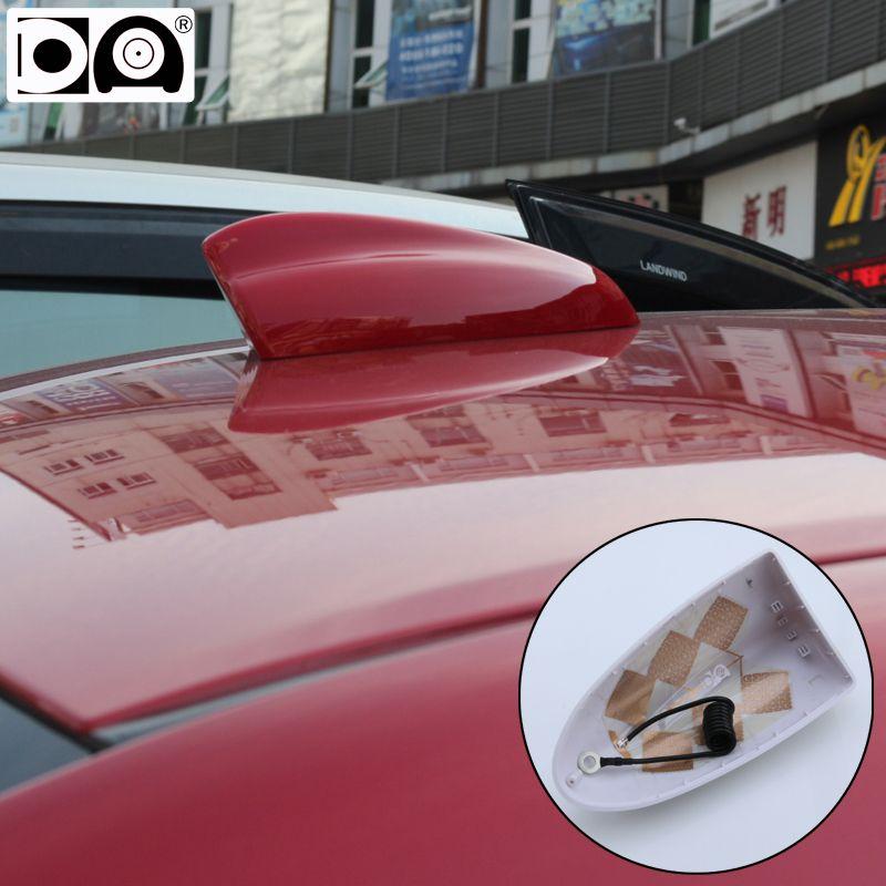 Super requin aileron antenne spécial autoradio antennes signal plus fort Piano peinture grande taille pour Chevrolet Cruze hatchback accessoires