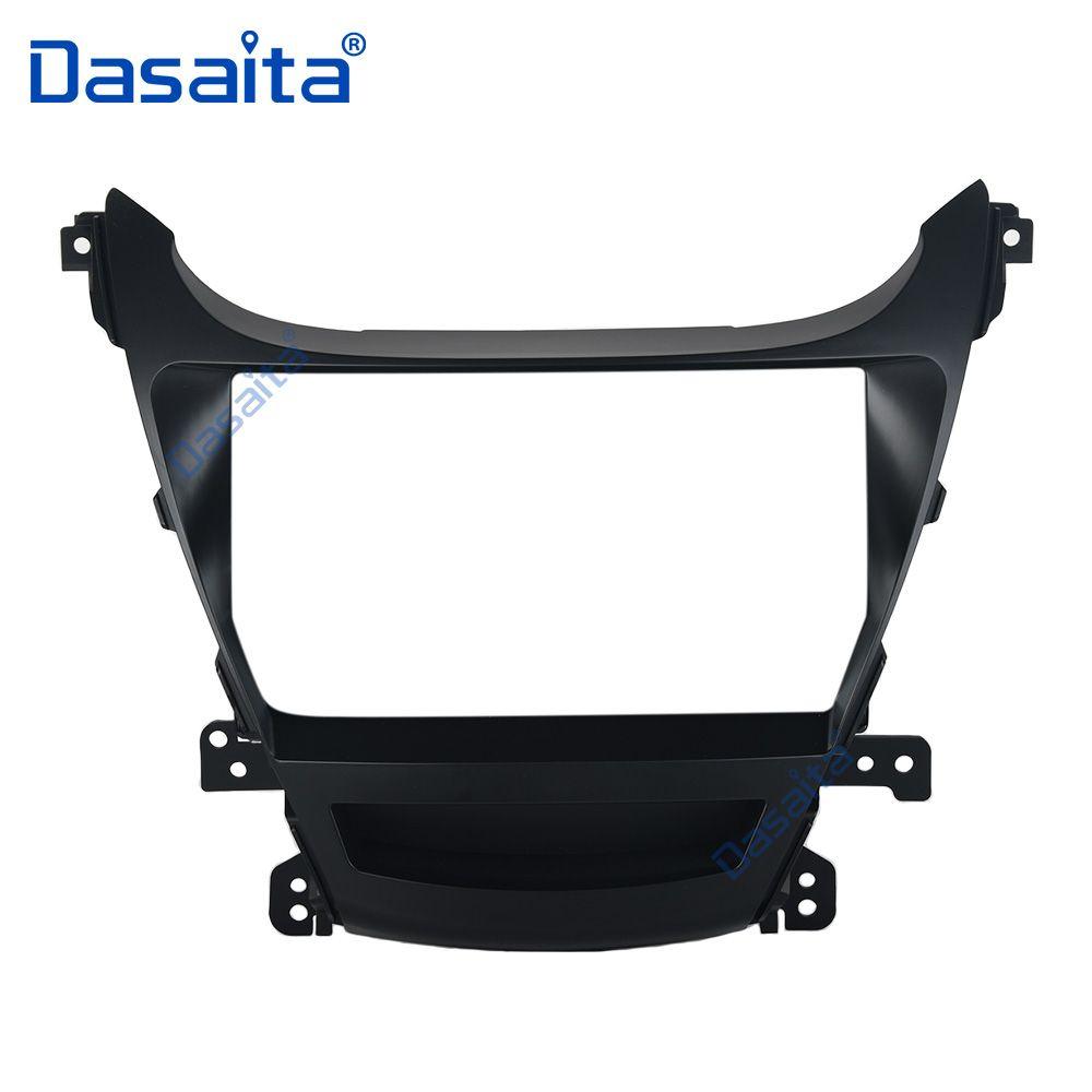 Car Stereo Frame Panel Fascia Mount Kit for Hyundai Elantra 2014 2015 I35 Avante Radio