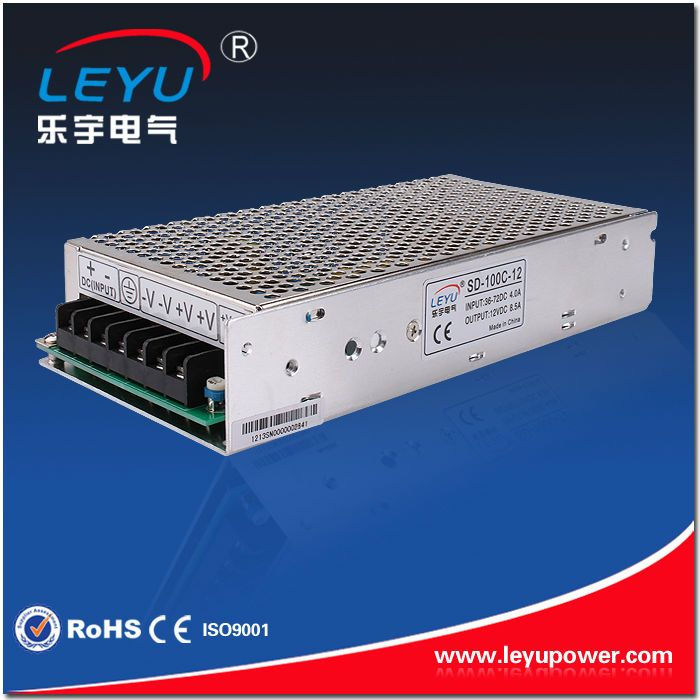 enclosured metal case high reliable low cost 100w 48v to 5v dc-dc step down converter with CE RoHS certification