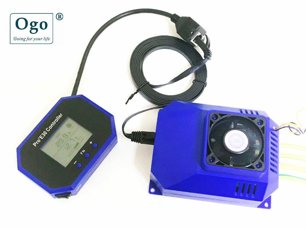 Ого pro'e30 интеллектуальные ЖК-дисплей ШИМ динамический рабочий с Двигатели для автомобиля HHO экономии топлива