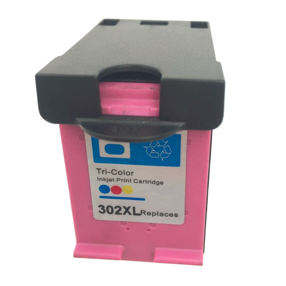 For HP 302 Non-OEM Tri color Ink Cartridge For HP 302 FOR HP DESKJET 2130 1110 1115 2134 2135 3630 Envy 4520 4522 4523 4524