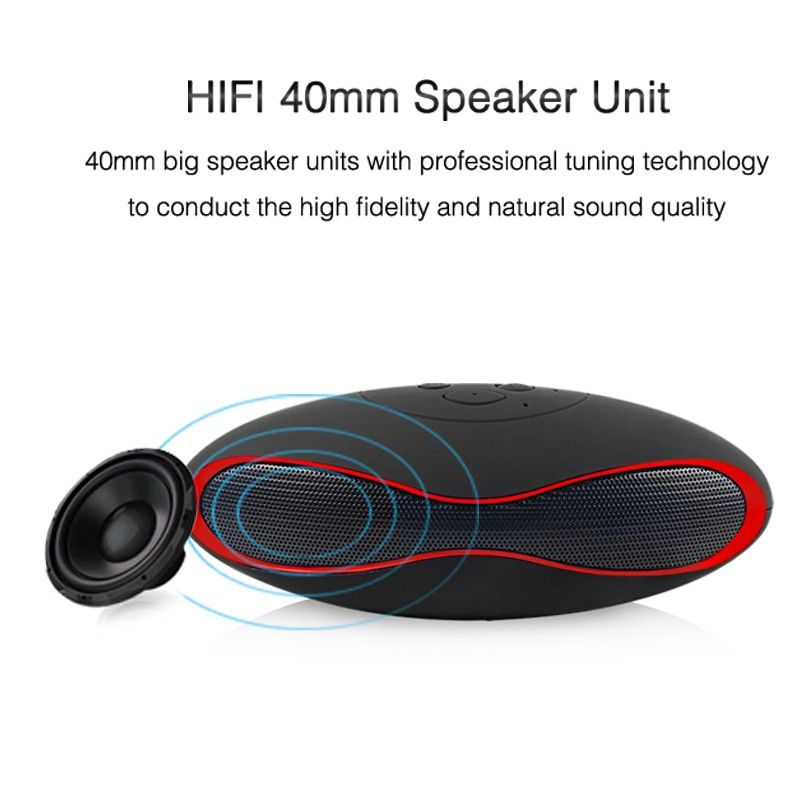 EASYIDEA Portable Speakers Mini Bluetooth Speaker For Phone Subwoofer Loudspeaker Computer Wireless Speakers Laptop With Mic