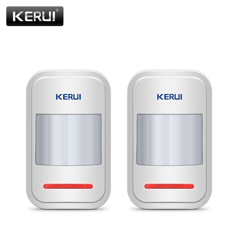 2pc/4pc Lot KERUI 433Mhz Wireless Intelligent PIR Motion Sensor Detector For GSM PSTN Home Alarm System Without Antenna Infrared