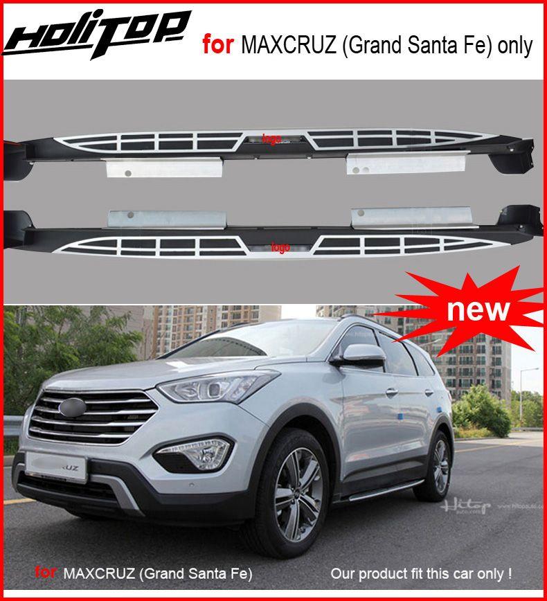 Für Hyundai Maxcruz (Grand Santa Fe) trittbretter seite pedale nerf bar 2013-2017, garantieren ISO9001 qualität. asien kostenloser versand