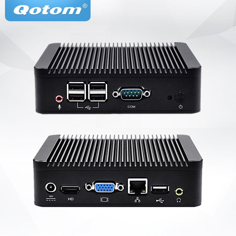 QOTOM Mini PC Q220N mit Core i5-3317U Prozessor, bis zu 2,6 ghz, X86 Mini PC I5