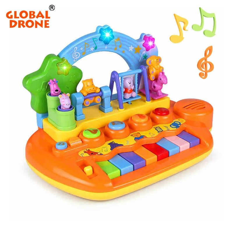 Global Drone Piano for Children Educational Toys Musical Piano Musical Toys Musical Instruments for Children Piano Enfant