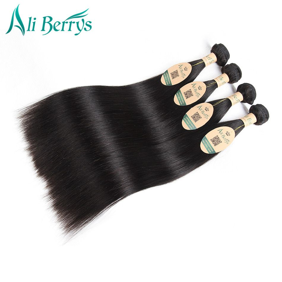Ali Berrys Hair 1 Piece Brazilian Straight Hair Bundles  8