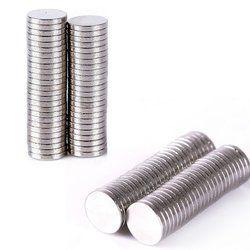 100 Pcs 6mm x 1mm Cylindre Rare Terre Masse Néodyme Aimant Mini Petit Disque Magnétique Matériaux