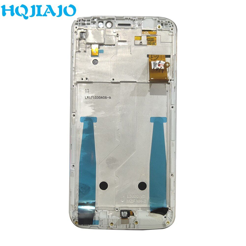 Test Super AMOLED LCD Für Moto E4 Plus XT1770 XT1773 XT1771 XT1772 LCD Display Touchscreen Digitizer Montage Mit Rahmen