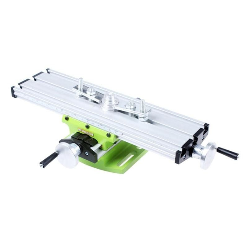 Miniature Precision Milling Machine Drill Bench Vise Fixture worktable X Y-axis Adjustment Coordinate Table Vise Bench
