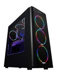 GETWORTH S10 Desktop PC Gaming Computer Intel I5 8500 GTX 1060 5GB Video Card CB360M 320GB SSD 8GB RAM 6 Colorful Fans 500W PSU