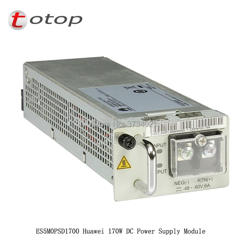 Original HW ES5M0PSD1700 with 170w DC power module for S5700series or S6720S-26Q-EI-24S