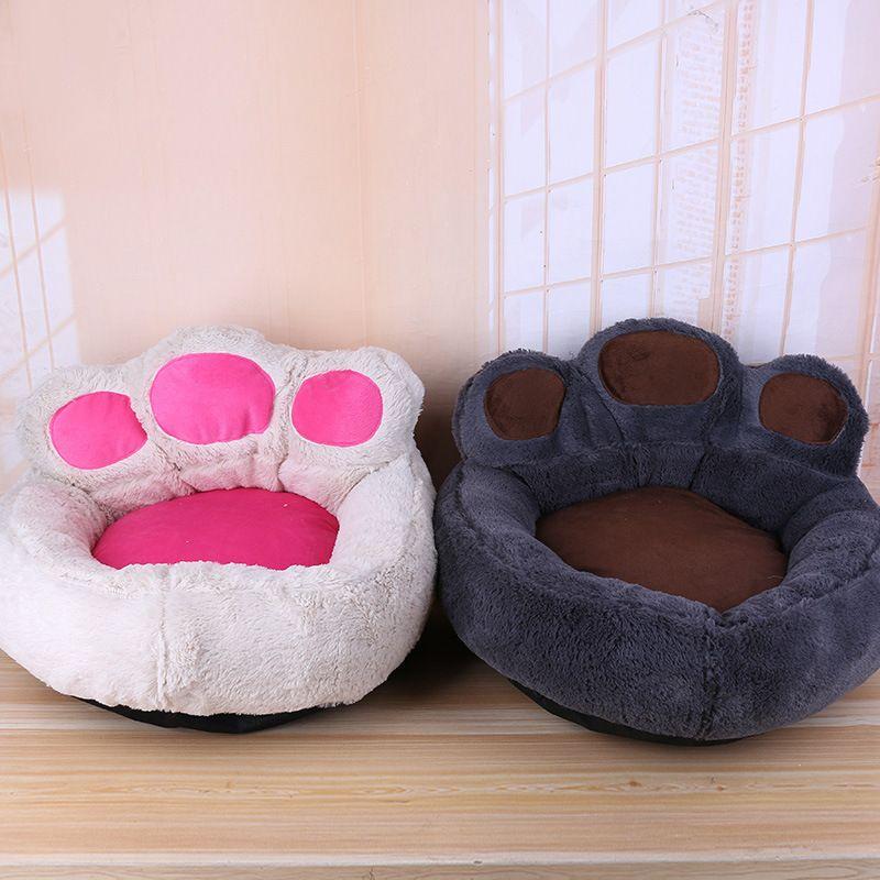 4 farben Neue Pet Bett Luxus Bär Klaue Form Hund Sofa Schlafen Bett Katzen Zwinger Waren für Kleine Hunde Haustiere tiere