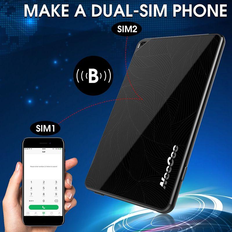 NEECOO Me2 4mm Morecard APP Ultra thin Bluetooth Smart Dual Micro Card Reader For Nano Dual SIM Card Adaptor For iPhone For iPad