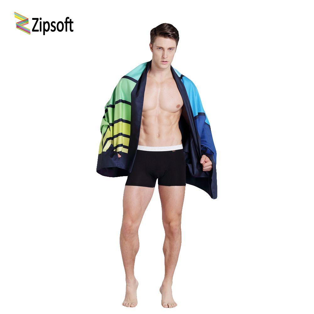 Zipsoft Strand + handtücher bad handtuch Mikrofaser handtücher Große Größe Reise freien schnelle trockene Yoga Matte Handtuch Wasser saugfähigen 2019 neue