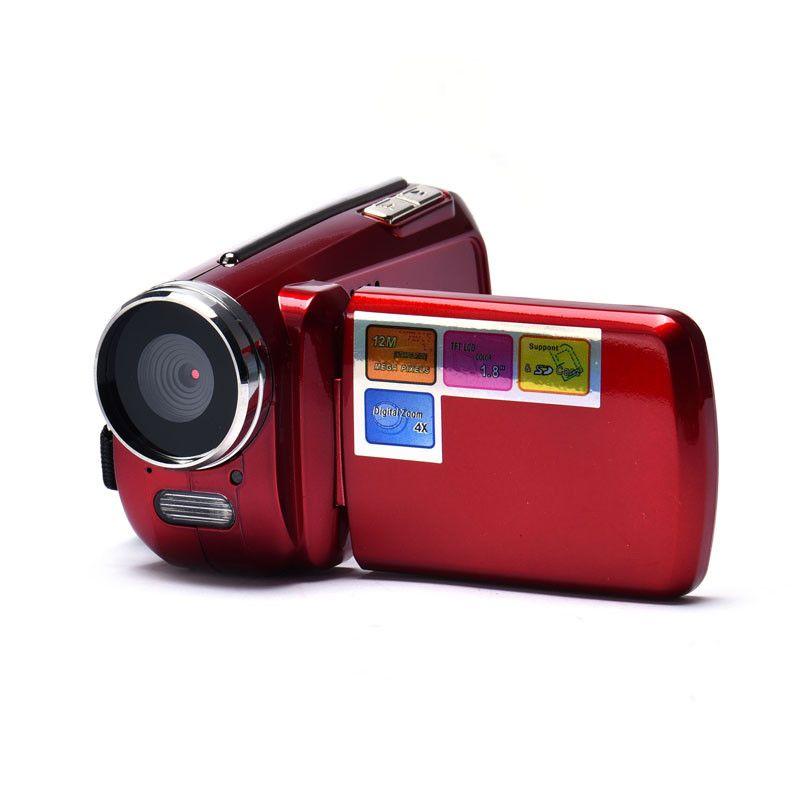 Guten verkauf 1,8 Zoll TFT 4X Digital Zoom Mini Video Kamera Rot oct.16 Mini-Kamera