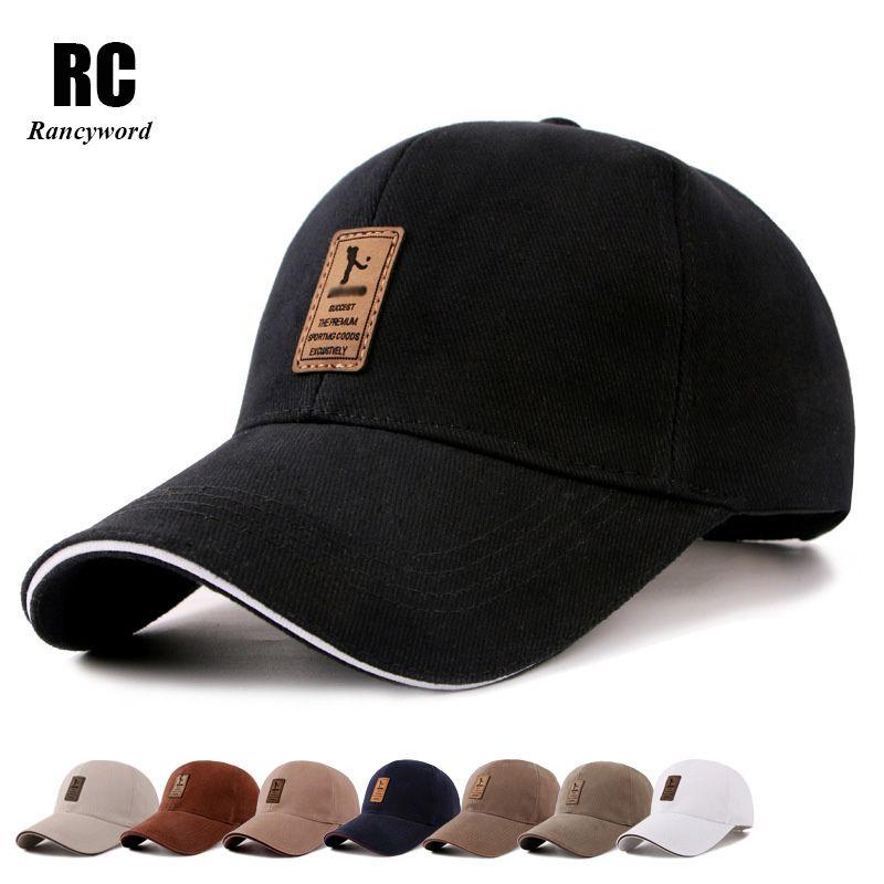 [Rancyword] hommes coton décontracté Golf chapeaux hommes Snapback Casquette Bone Gorras offre spéciale pas cher marque casquettes de Baseball RC1051
