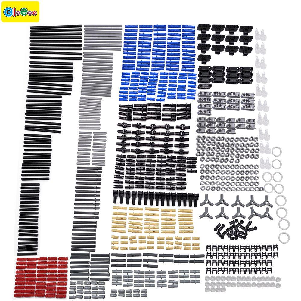 882pcs New technic series parts mini model building blocks set compatible with designer toys for kids toy building bricks Pin