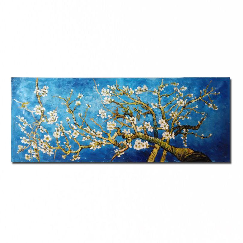 Новый 100% ручная роспись Ван Гог Картина маслом высокое качество цветка стены картинки для гостиной dm-1511101