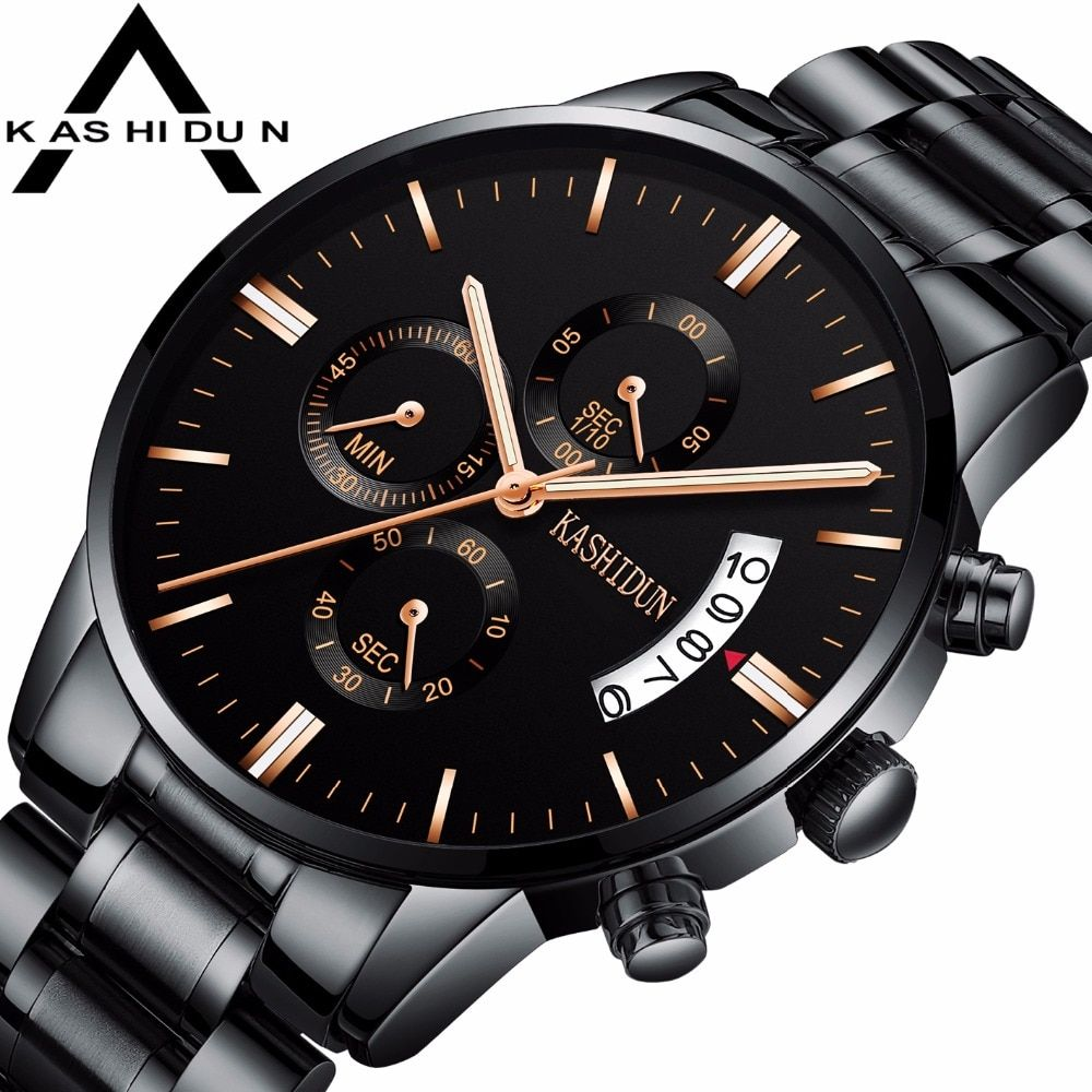 KASHIDUN männer Uhren Luxus Marke männer Sport Mode Kleid Militär Armee Quarz Armbanduhren Saat Relogio Relogio Masculino