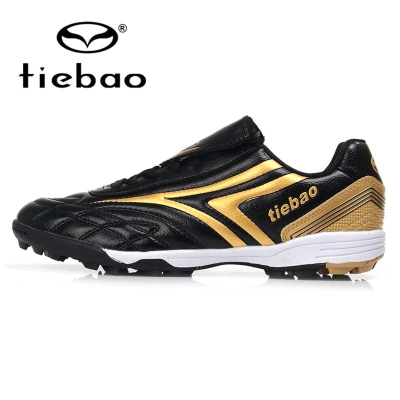 TIEBAO Professional Children Kids Teenagers TF Turf Sole Football Boots Sneakers Breathable Training Shoes Outdoor Soccer Shoes