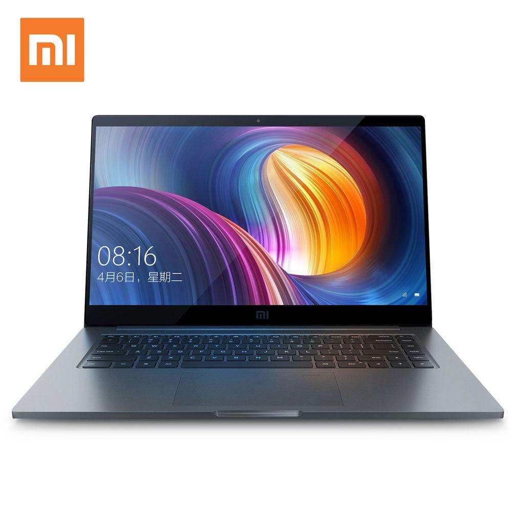 Xiao Mi ноутбук воздуха Pro 15.6 дюймов Тетрадь Intel Core Quad Процессор NVIDIA 16 ГБ 256 ГБ SSD GDDR5 отпечатков пальцев разблокировать Оконные рамы 10