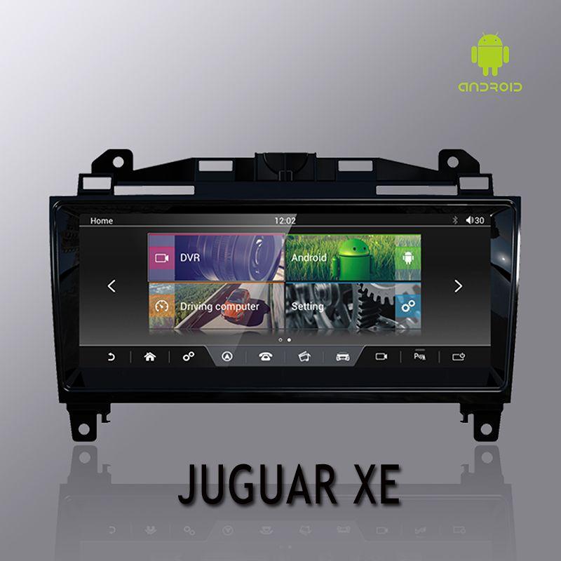 NVTECH 10,25 ''für Juguar XE XF XFL F-PACE Dashboard Multimedia Navi GPS Bluetooth Android7.1 2 GB + 32 GB player 2014-2017