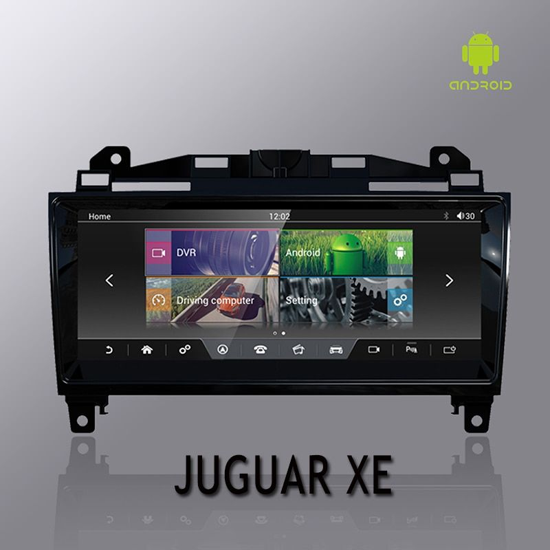 NVTECH 10,25 ''für Juguar XE XF XFL F-PACE Dashboard Multimedia Navi GPS Bluetooth Android7.1 2 GB + 32 GB player 2014-2017