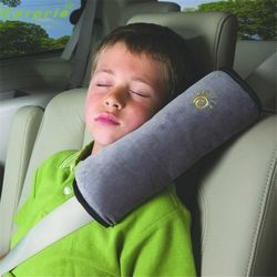 Droshipping 28x9x12 cm Bébé Enfants Sangle De Sécurité Micro-suède Tissu De Voiture Siège Ceintures Oreiller D'épaule Protection C0.18ar-Style