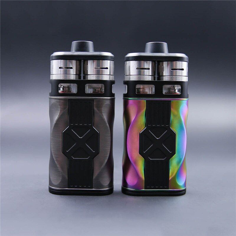 newest Original Teslacigs Tesla CP COUPLES 220W Electronic Cigarette Kit with CP COUPLES box mod and Dual CP Couples RDTA Tanks