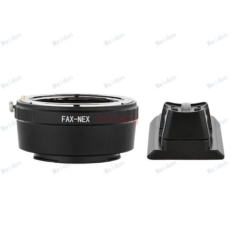 FAX fujica objektiv nex E mount adapter ring mit stativ für a5100 a6000 a6300 a6500 NEX3/5N/ 7/6/5R/5 T a7 a9 a7r a7s a7r3 kamera