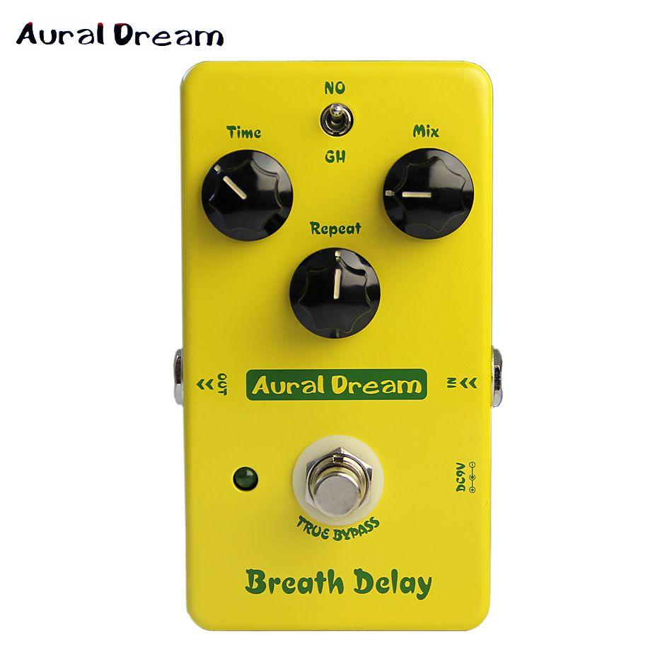 Aural Dream Breath delay Electric guitar effects Pedal copy Mad Professor Deep Blue Delay True Bypass
