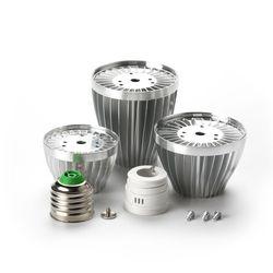 9 W 12 W 18 W Lampu LED Bulb Aksesoris E27 B22 E14 Diy Aluminium Shell Kit GU10 3 W 7 W LED Bola Bola Lampu Bagian untuk Lampu Yang Lebih Baik