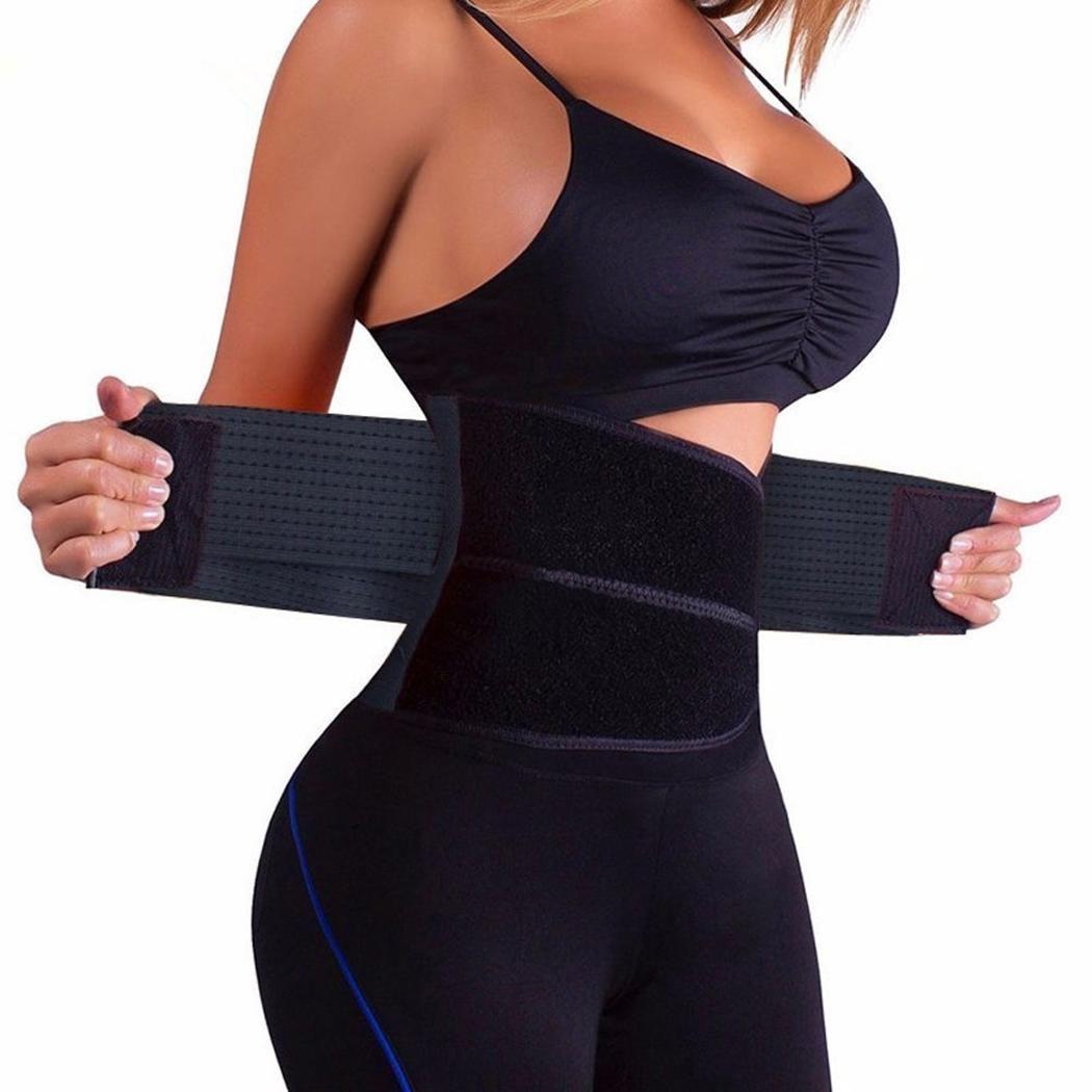 SEXY Men/Womens Waist Trainer Cincher Control Underbust Shaper Corset Shapewear Body Tummy Sport Belt girdles Firm Control Waist