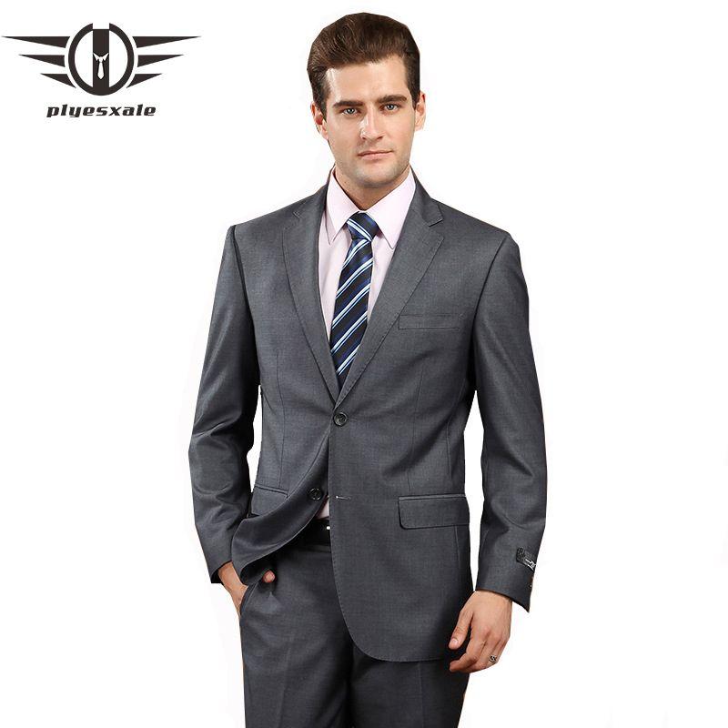 Neuesten Mantel-Hose Designs Mens Formal Wear Beste Hochzeit Anzüge Für männer Marke Kleidung Dunkelgrau Smoking Terno Schlank Prom Anzüge Q80