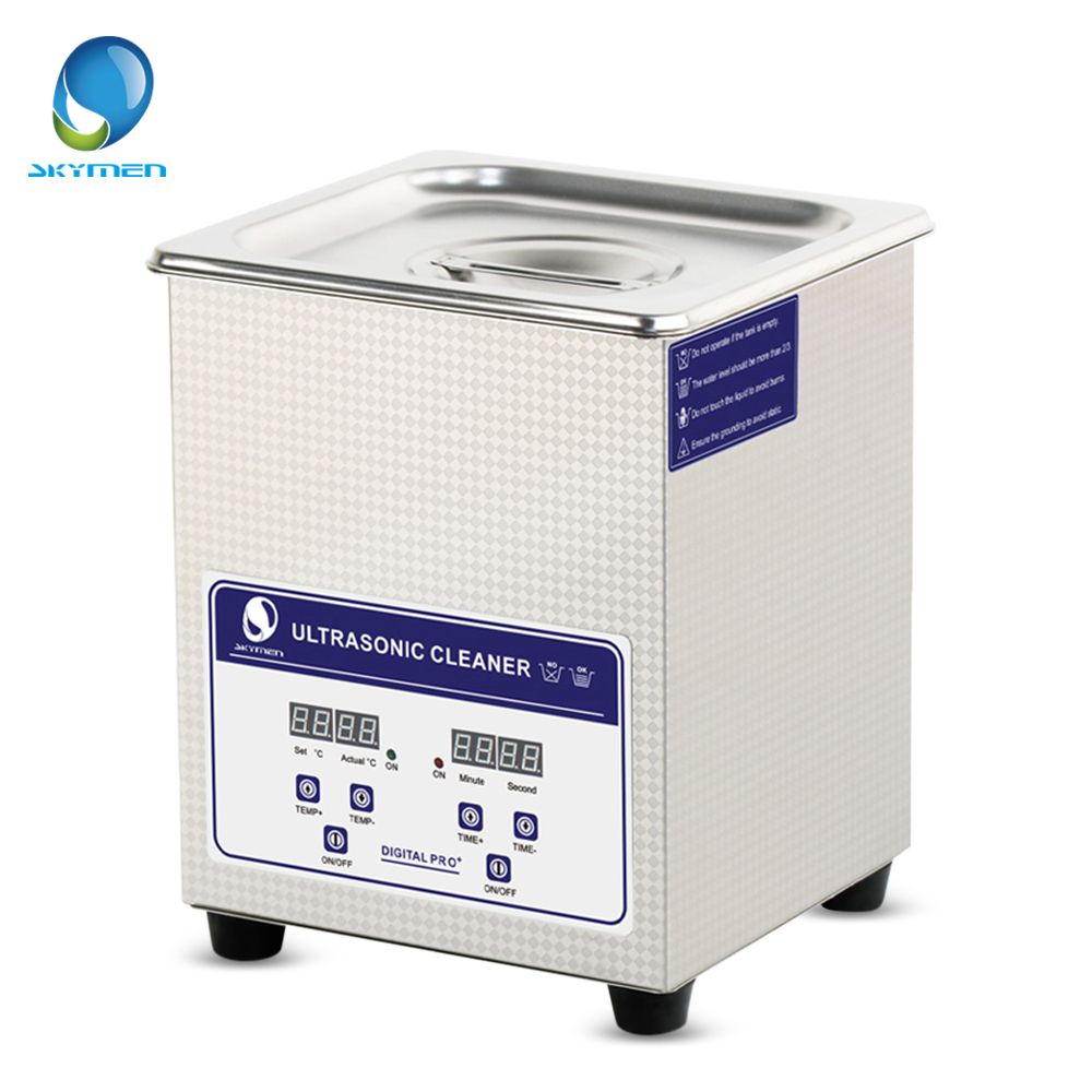 SKYMEN 2L Ultrasonic Sterilizer Cleaner Sterilizing Nail Tools Disinfection Machine stainless steel Ultrasonic Sterilizer