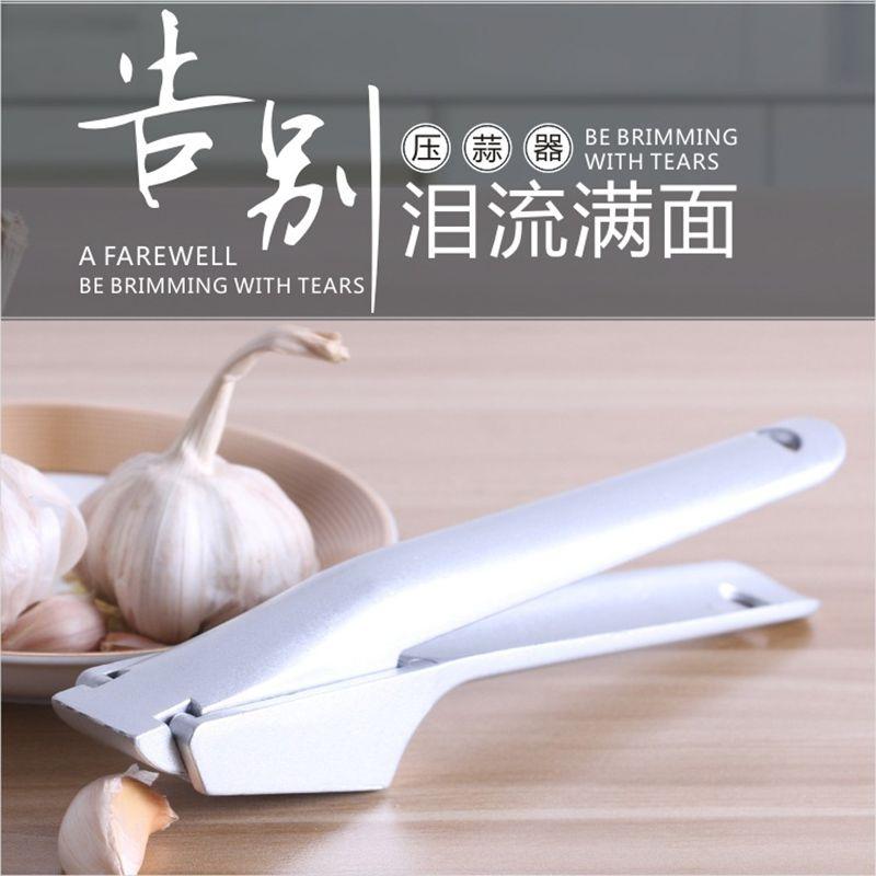 Acier inoxydable broyeur ail Presses pratique Split alliage d'aluminium gingembre ail Chopper cuisine fruits légumes outils