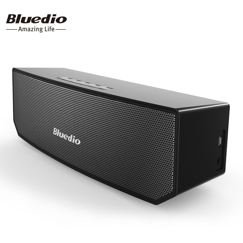 Bluedio BS-3 (Camel) Mini Bluetooth speaker Portable Wireless speaker Home Theater Party Speaker <font><b>Sound</b></font> System 3D stereo Music