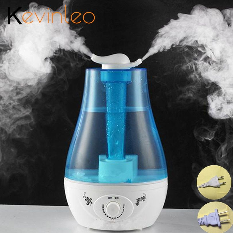 3L Aroma Ultrasonic Humidifier Essent Oil Diffuse 25W 110-240V LED Light Humidifier Aromatherapy Diffuser Ultrasonic Mist Maker