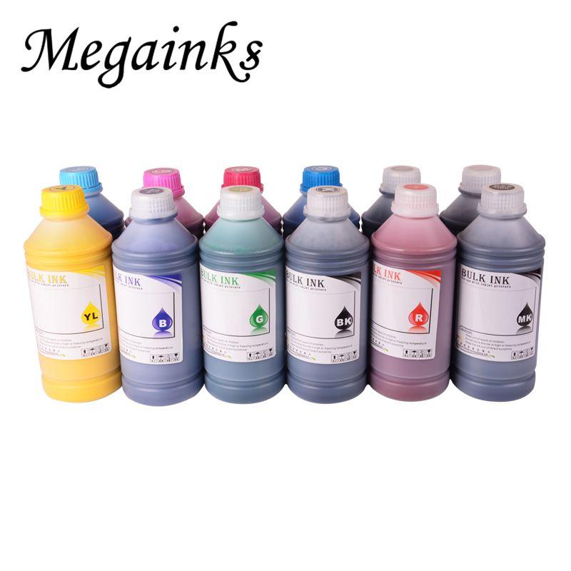Waterproof Refill Pigment Ink for HP 100 500 510 800 5500 T610 T770 T790 T1100 T1120 T1200 T1300 T2300 Z2100 Z3100 Z5200 Black