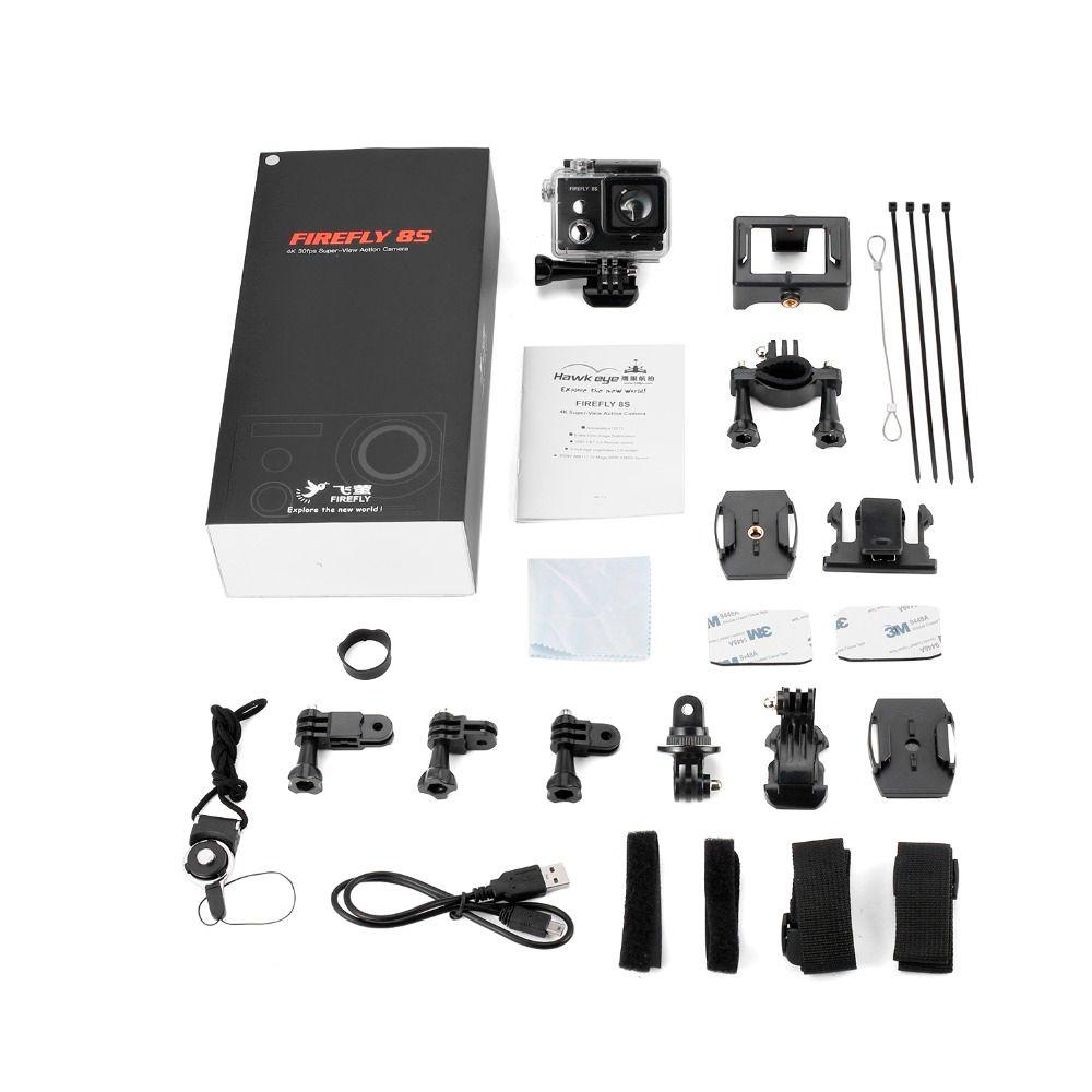 1pcs Hawkeye Firefly 8S 4K Distortionless Camera Aerial Photography Camera Recorder