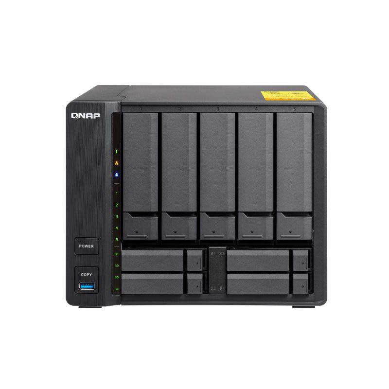 QNAP TS-932X 2G speicher 9-bay diskless nas, nas server nfs netzwerk storage-cloud-storage, 2 jahre garantie