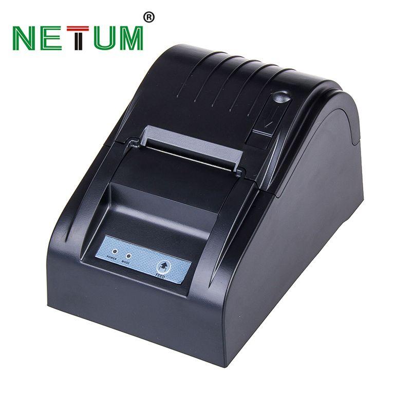 5890 T 58mm Thermodrucker 58mm Thermobondrucker 58mm USB POS Drucker für Restaurant und Supermarkt