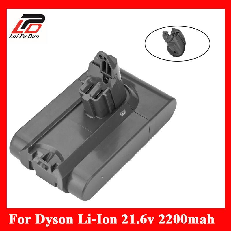 Vacuum Cleaner 21.6V 2200mAh Rechargeable Li-ion Battery for Dyson DC58 V6 DC59 DC61 DC62 Animal